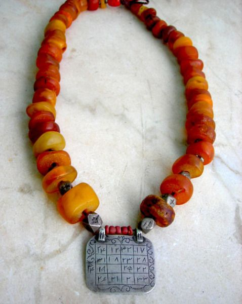 berber-necklace-with-qabbalah