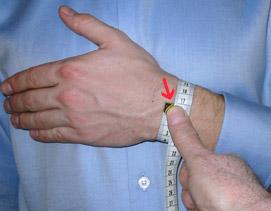 wrist size