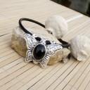 Női amulett nyaklánc, Nepáli pillangó nyaklánc, Női buddhista nyaklánc