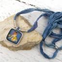 Női amulett nyaklánc, Indiai nyaklánc, Szári nyaklánc