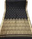 Indiai szári, Selyemszári Indiából, Fekete selyemszári, Tradicionális indiai szári