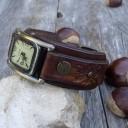 Női karóra, Antik bronz órakarkötő, Órakarkötő, Karkötőóra, Ékszeróra, Női retro karóra