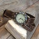 Női karóra, Antik bronz női órakarkötő, Karkötőóra, Ékszeróra, Kézműves karóra nőknek, Vintage stílusú női karóra