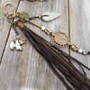 Afrikai talizmán, Afrikai talizmán nyaklánc, Kulcstartó, Táska/hátizsák dísz